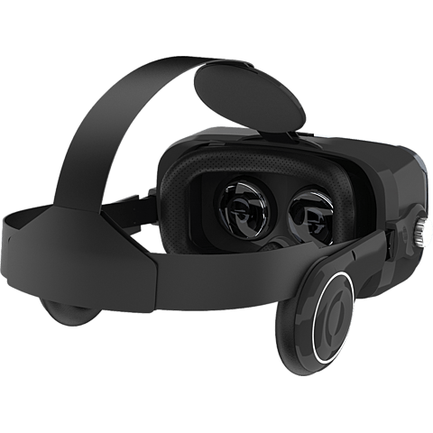 xqisit VR 1 Brille Schwarz 99926740 hinten