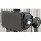 xqisit VR 1 Brille Schwarz 99926740 kategorie