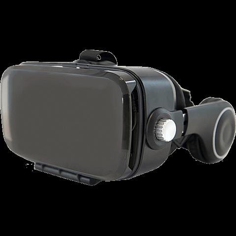 xqisit VR 1 Brille Schwarz 99926740 seitlich