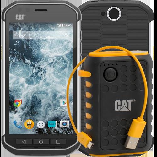 CAT S40 + Powerbank