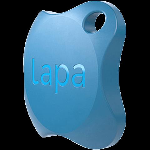 Lapa Bluetooth-Tracker Blau 99926814 seitlich