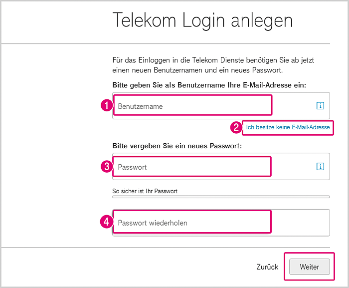 Telekom Emailadresse