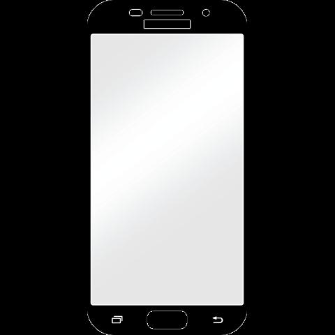 Displex Full Screen Glas Samsung A5 (2017) Schwarz 99926782 vorne