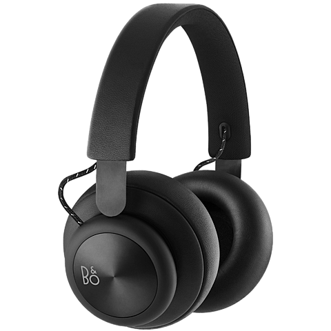 B&O BeoPlay H4 Black Over-Ear Bluetooth-Kopfhörer 99926970 vorne