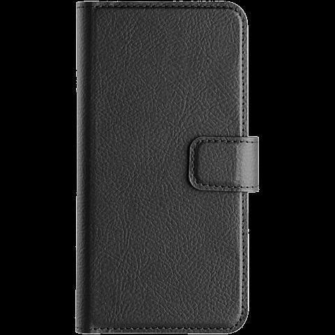 xqisit Slim Wallet Samsung Galaxy J3 (2017) Schwarz 99926790 vorne