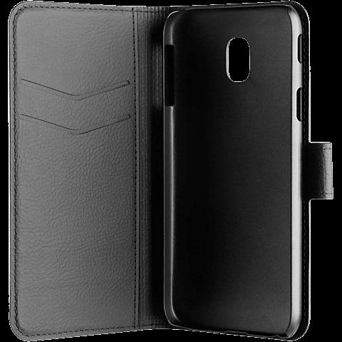 xqisit Slim Wallet Samsung J5 (2017) 99926785 seitlich