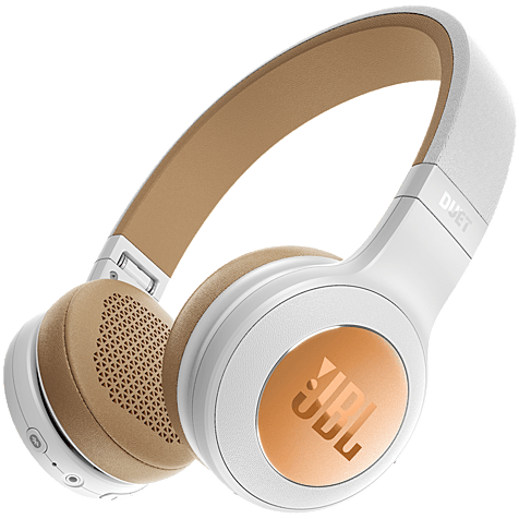 JBL Duet BT Bluetooth-On-Ear Kopfhörer Weiß 99926732 hero