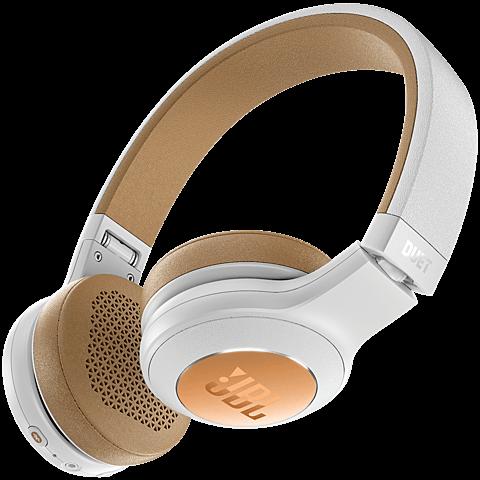 JBL Duet BT Bluetooth-On-Ear Kopfhörer Weiß 99926732 hinten