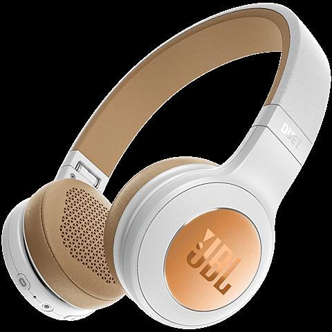 JBL Duet BT Bluetooth-On-Ear Kopfhörer Weiß 99926732 vorne