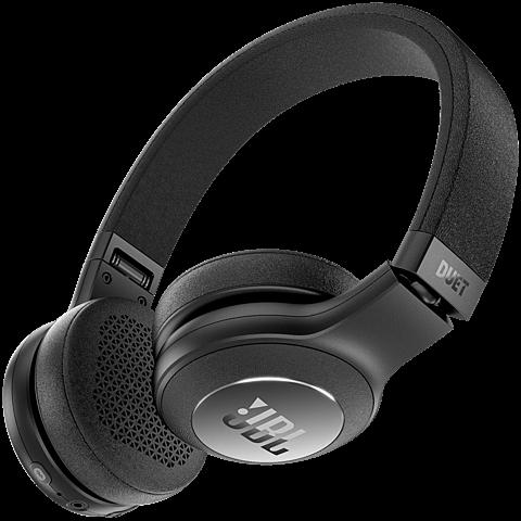 JBL Duet BT Bluetooth-On-Ear Kopfhörer Schwarz 99926730 hinten