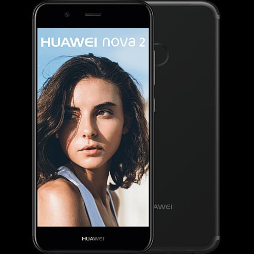 HUAWEI Nova 2 schwarz Vorne und hinten