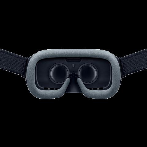 Samsung Gear VR (SM-R325) mit Controller Schwarz 99928924 hinten