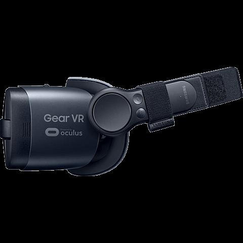 Samsung Gear VR (SM-R325) mit Controller Schwarz 99928924 seitlich