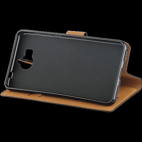 xqisit Slim Wallet Selection Schwarz Huawei Y6 (2017) 99926968 seitlich