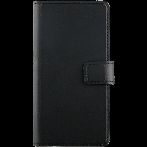 xqisit Slim Wallet Selection Schwarz Huawei Y6 (2017) 99926968 vorne
