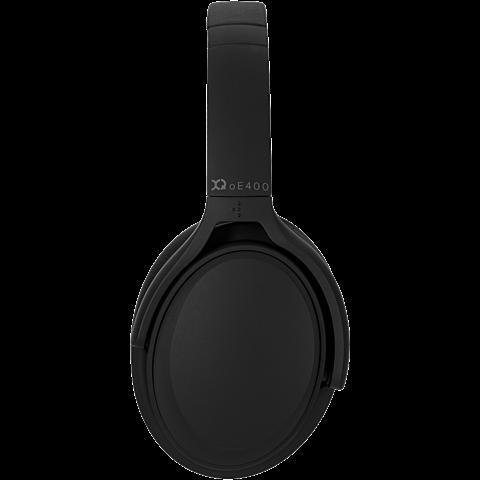 xqisit OE 400 ANC sw BT-Over-Ear Kopfhörer 99927180 seitlich