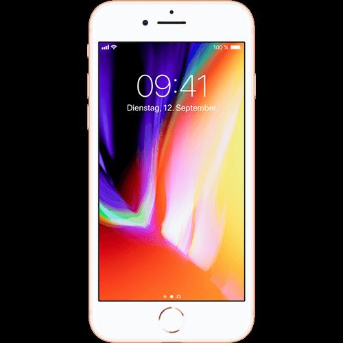 Apple iPhone 8 Gold Vorne