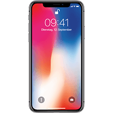 Apple iPhone X Space Grau Katalog