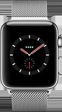 Apple Watch Series 3 Edelstahl-Silber-42 mm, Armband-Edelstahl-Milanaise, GPS und Cellular Katalog