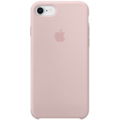 Apple Silikon Case iPhone 8 Sandrosa 99927261 vorne