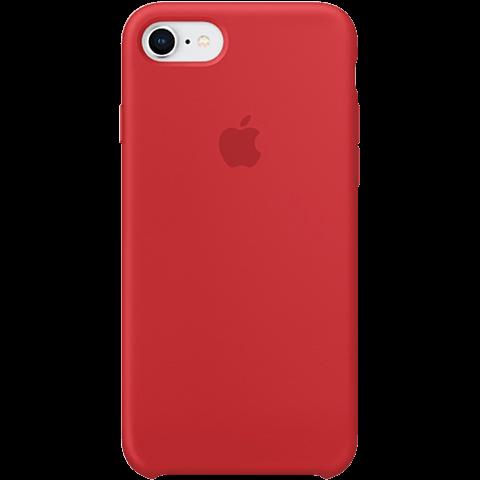 Apple Silikon Case iPhone 8 Red 99927263 vorne