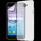 xqisit iPlate + Displayschutzfolie Huawei Y6 (2017) 99926969 kategorie