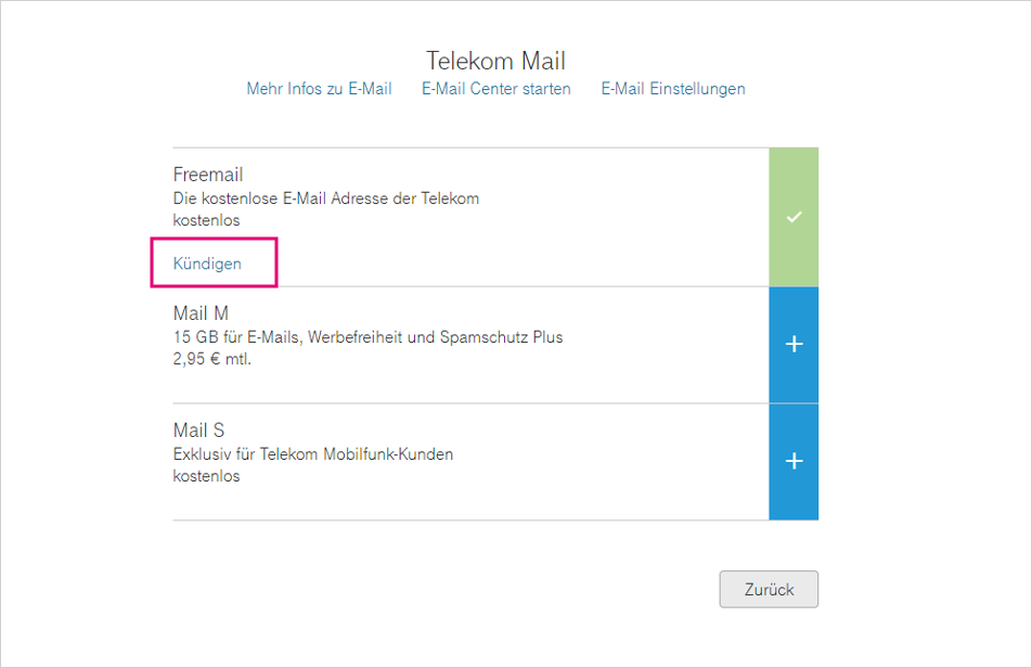 Telekom Freemail Löschen