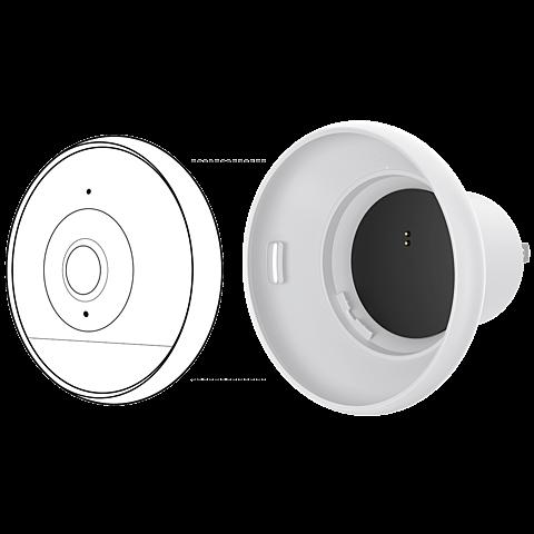Logitech Circle 2 Steckhalterung, Weiss 99927201 seitlich