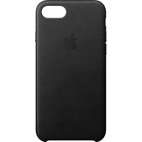 Apple Leder Case iPhone 8 Schwarz 99927265 hero