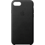 Apple Leder Case iPhone 8 Schwarz 99927265 kategorie