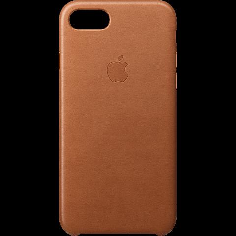 Apple Leder Case iPhone 8 Sattelbraun 99927267 vorne