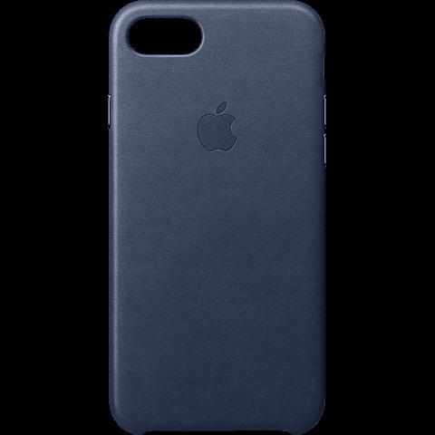 Apple Leder Case iPhone 8 Mitternachtsblau 99927268 vorne