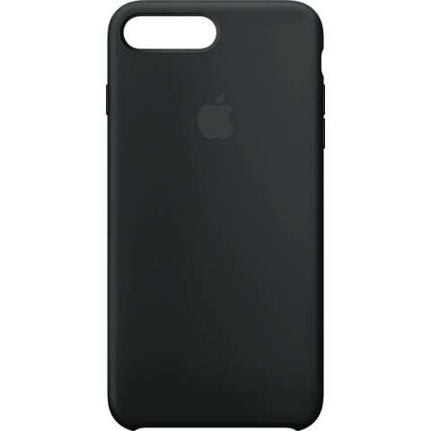 Apple Silikon Case iPhone 8 Plus - Schwarz 99927233 vorne