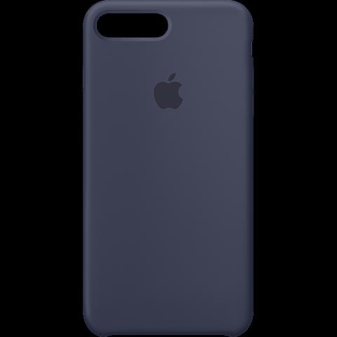 Apple Silikon Case iPhone 8 Plus - Mitternachtsblau 99927257 vorne