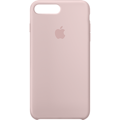 Apple Silikon Case iPhone 8 Plus - Sandrosa 99927258 vorne