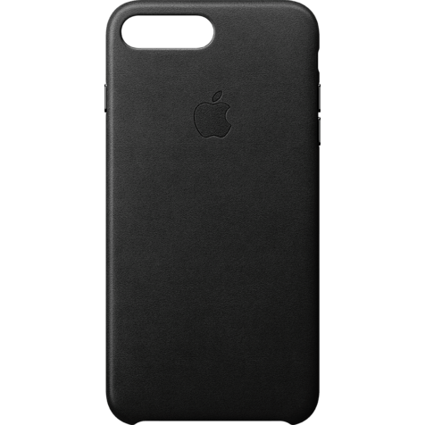 Apple iPhone 8 Plus Leder Case - Schwarz 99927262 hero