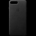 Apple iPhone 8 Plus Leder Case - Schwarz 99927262 kategorie