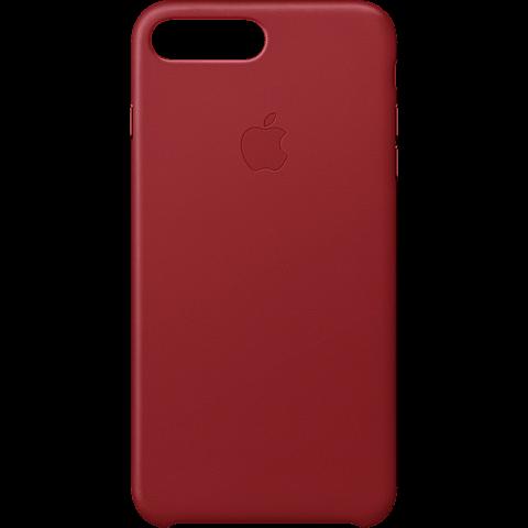 Apple iPhone 8 Plus Leder Case - Red 99927269 vorne