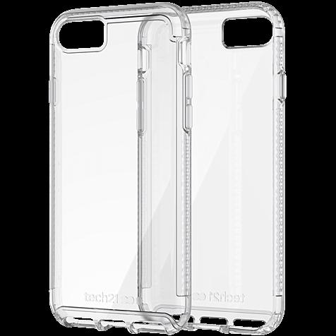 Tech21 Pure Clear Hülle Transparent Apple iPhone 8 99927057 hero