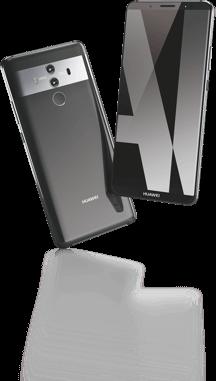 Huawei Mater 10 Pro Vor- und Rückseite