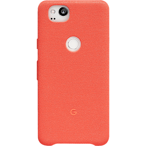 Google Pixel 2 Schutzhülle Koralle 99927336 hinten