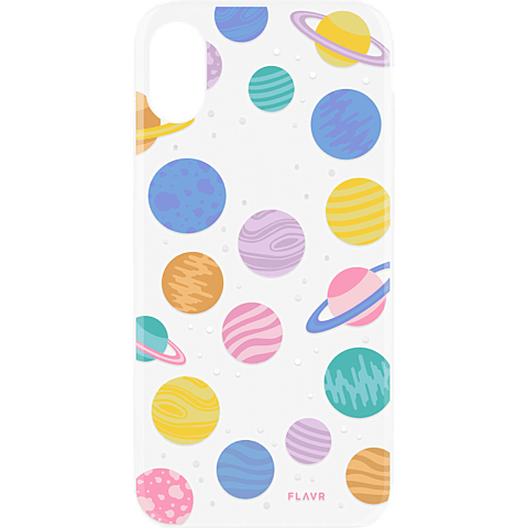 FLAVR Cover iPhone X - Happy Planets 99927069 hinten