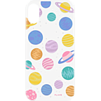 FLAVR Cover iPhone X - Happy Planets 99927069 kategorie