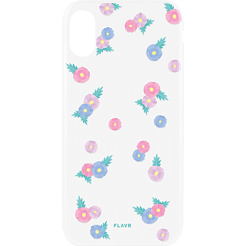 FLAVR Cover iPhone X - Tiny Flowers 99927071 hinten