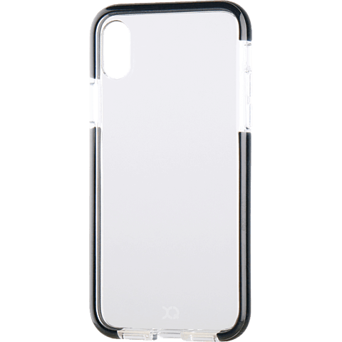 xqisit Cover Mitico Schwarz Apple iPhone X 99927076 vorne