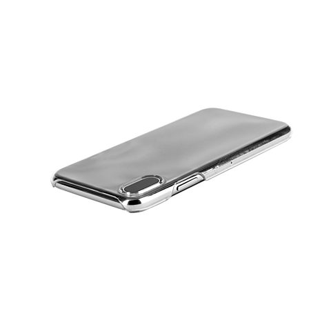 xqisit iPlate Transparent Apple iPhone X 99927075 seitlich