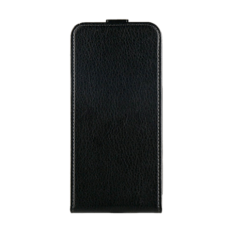 xqisit Flipcover Selection Schwarz Apple iPhone X 99927074 vorne