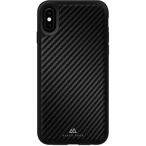 BlackRock Cover Material Real Carbon Schwarz Apple iPhone X 99927097 hero