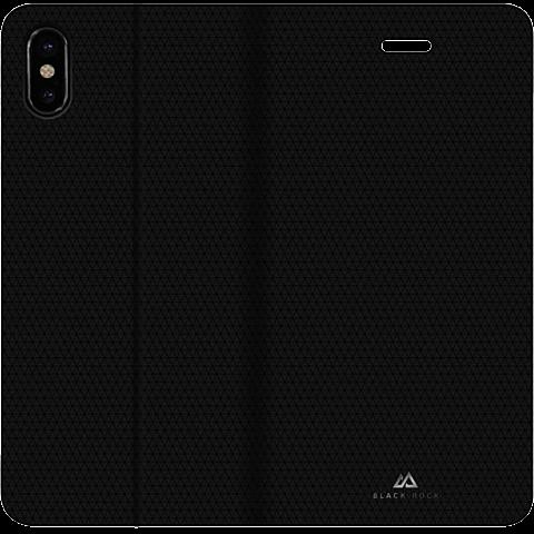 BlackRock Booklet Material Pur Schwarz Apple iPhone X 99927098 hinten
