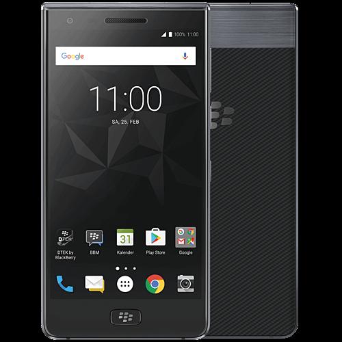 BlackBerry MOTION Grau Vorne und Hinten